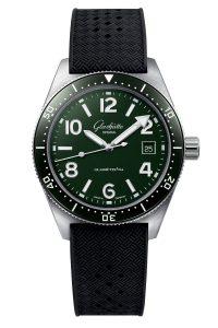 Glashutte Original SeaQ Reed Green 1-39-11-13-83-06 Frontal
