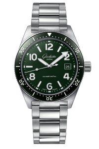 Glashutte Original SeaQ Reed Green 1-39-11-13-83-70 Frontal