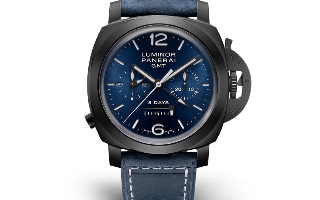 Panerai Luminor Chrono Monopulsante GMT Blu Notte PAM01135