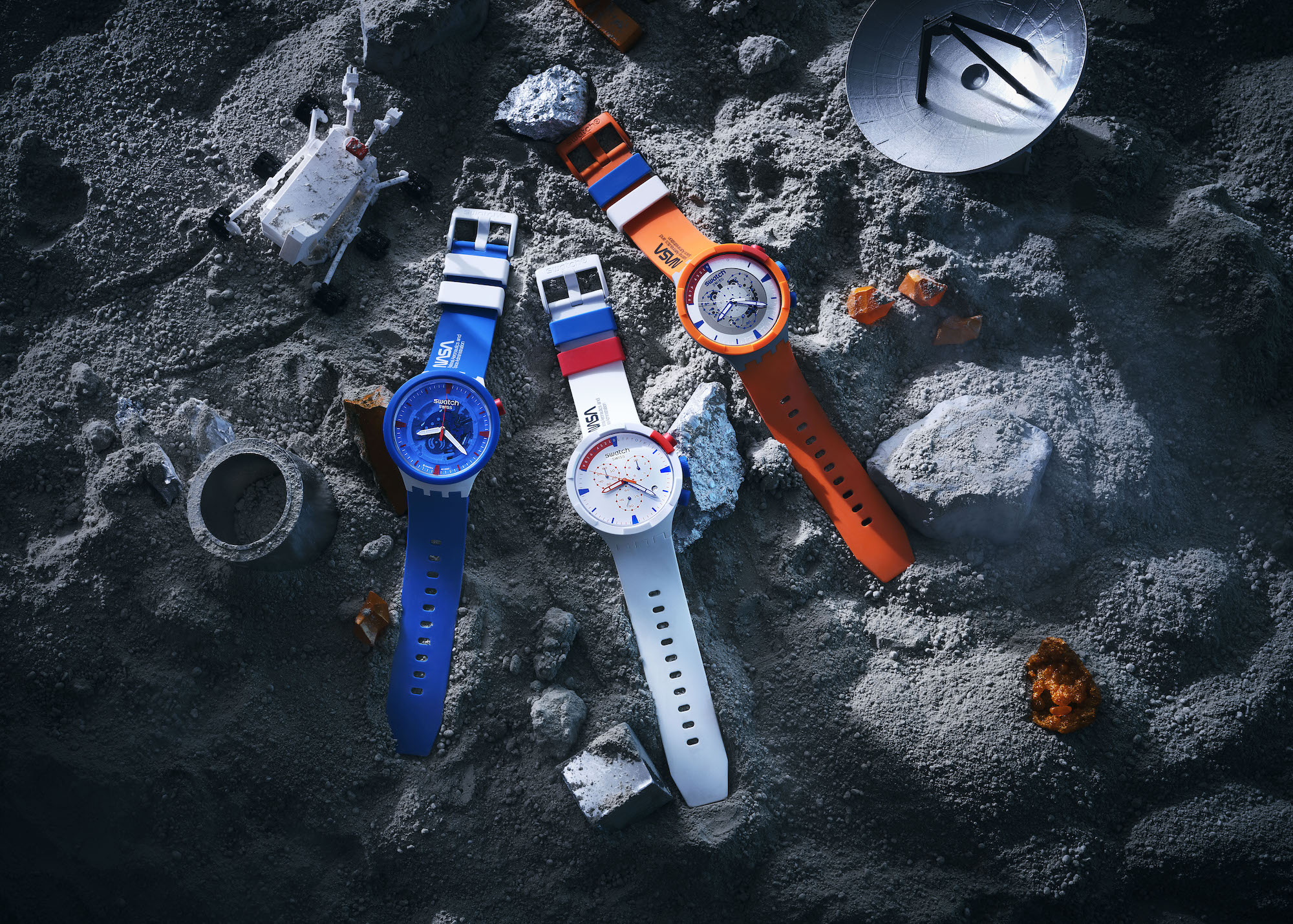 Swatch Big Bold Space Collection Combo