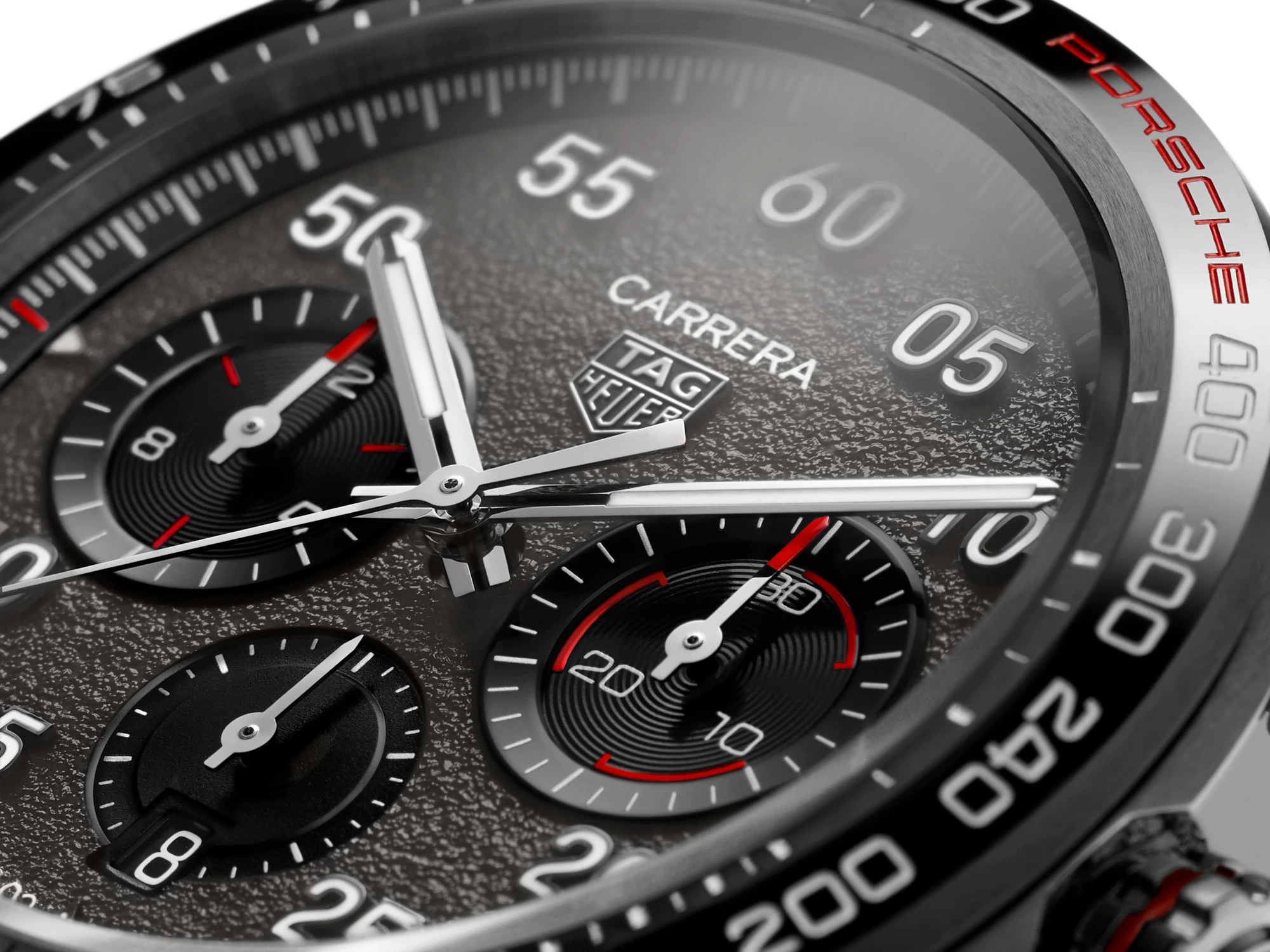 TAG Heuer Carrera Porsche Chronograph Special Edition CBN2A1F.FC6492 Detalle esfera