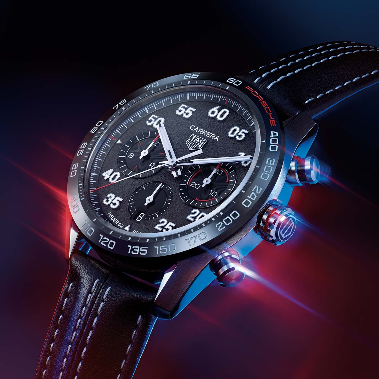 TAG Heuer Carrera Porsche Chronograph Special Edition CBN2A1F.FC6492 Lifestyle esfera