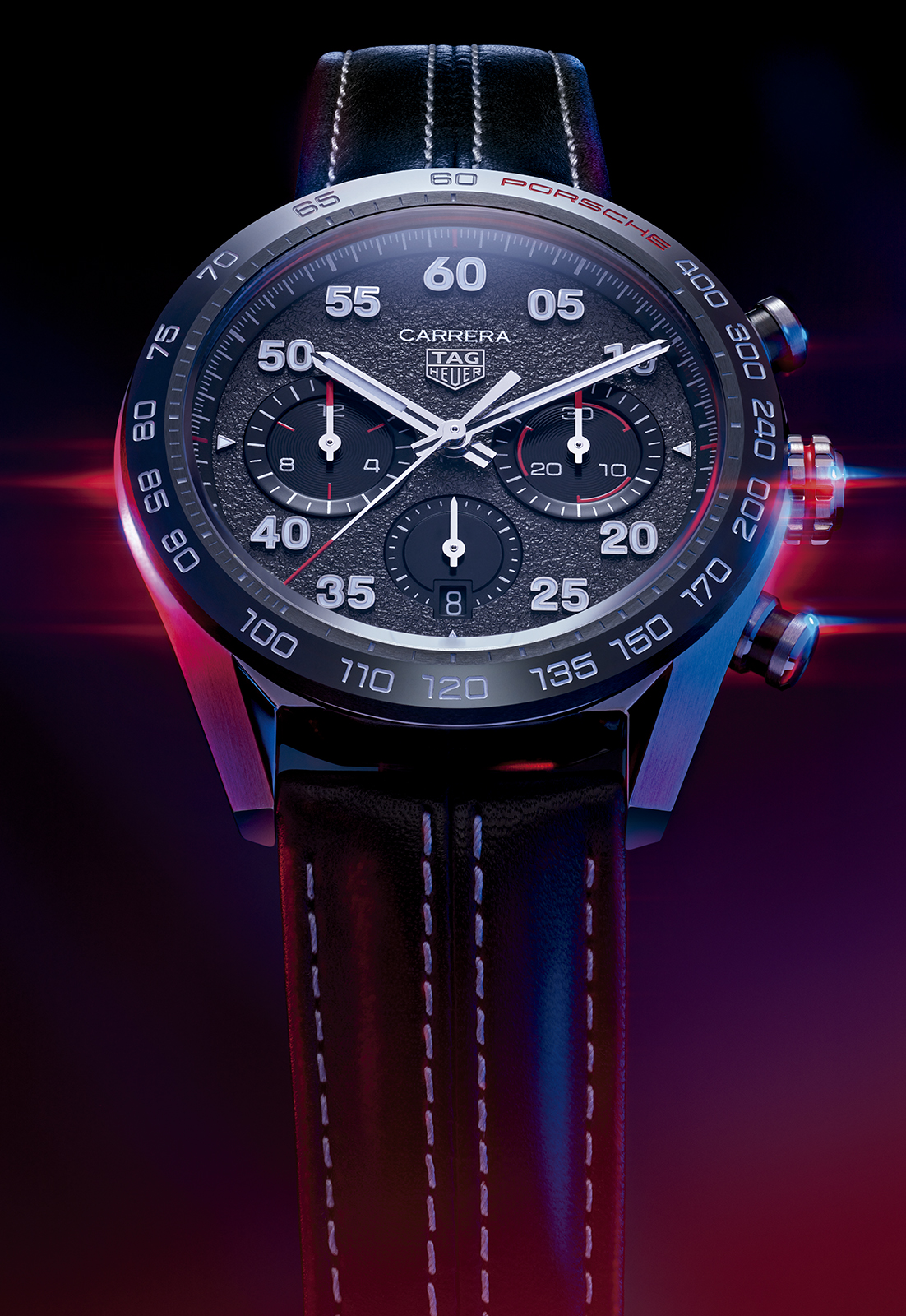 TAG Heuer Carrera Porsche Chronograph Special Edition CBN2A1F.FC6492 Lifestyle frontal