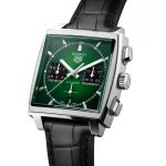 TAG Heuer Monaco Green Dial CBL2116.FC6497 Esfera