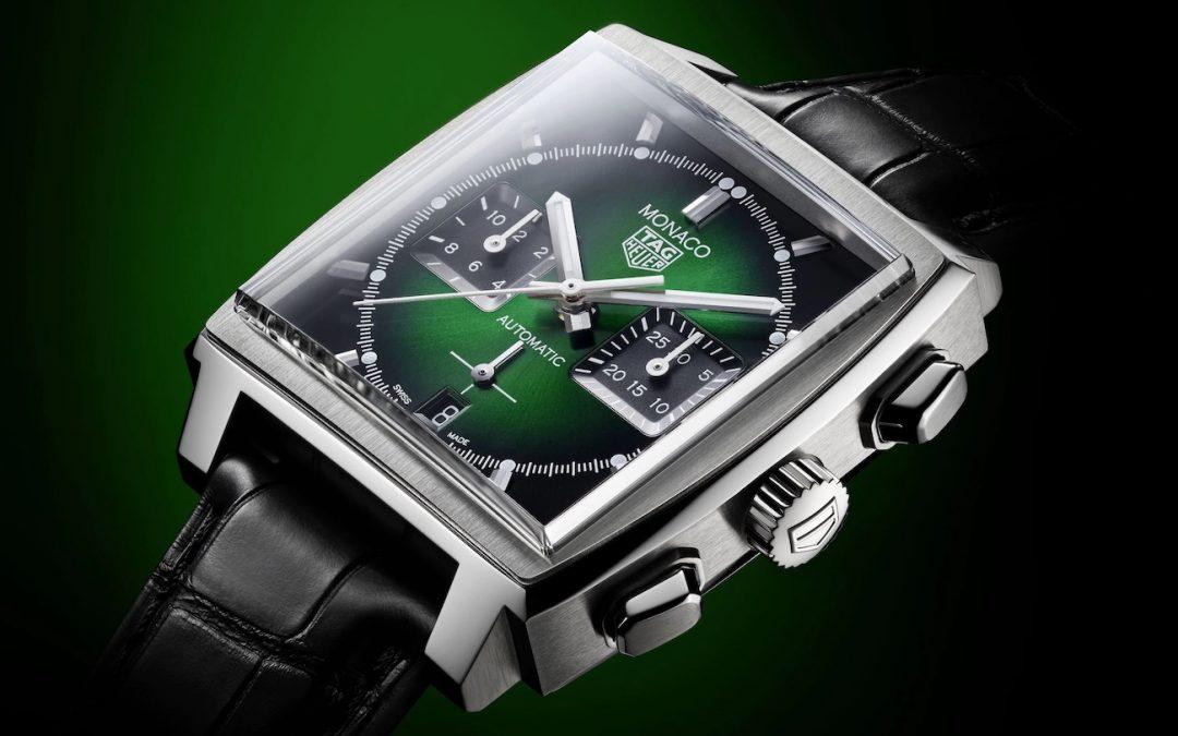 TAG Heuer Monaco Green Dial CBL2116.FC6497