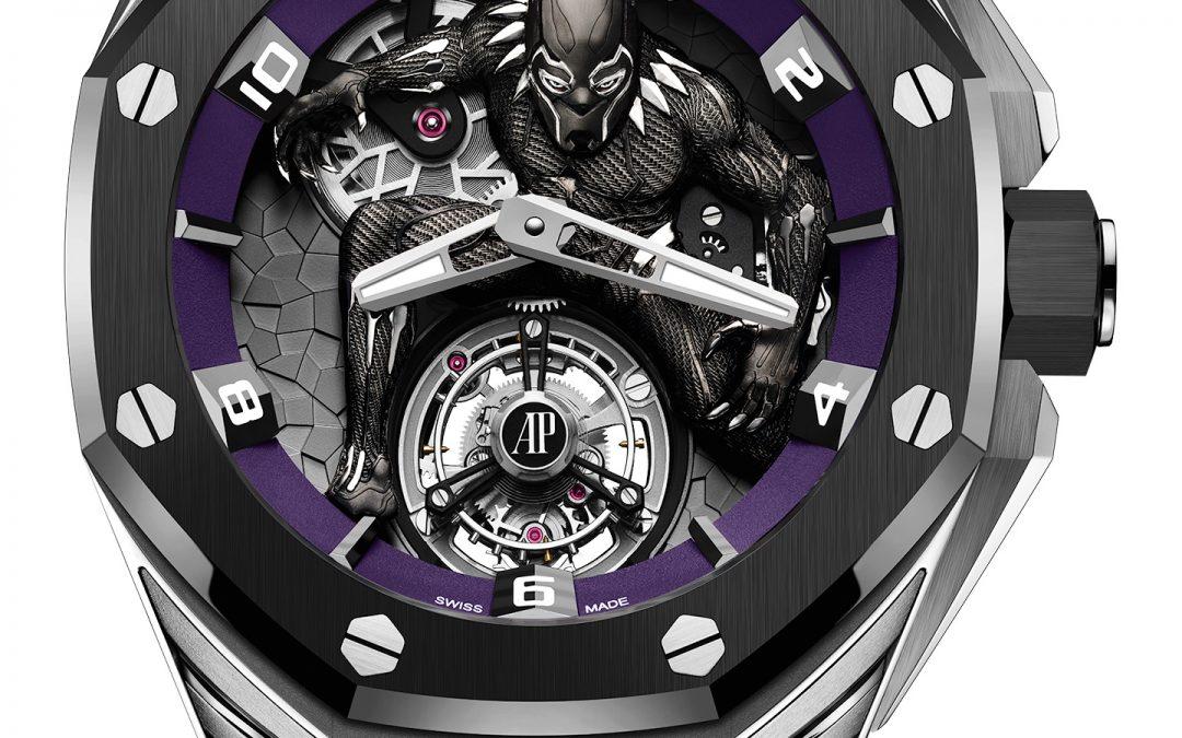 "Audemars Piguet Royal Oak Concept ""Black Panther"" Flying Tourbillon 26620IO.OO.D077CA.01"