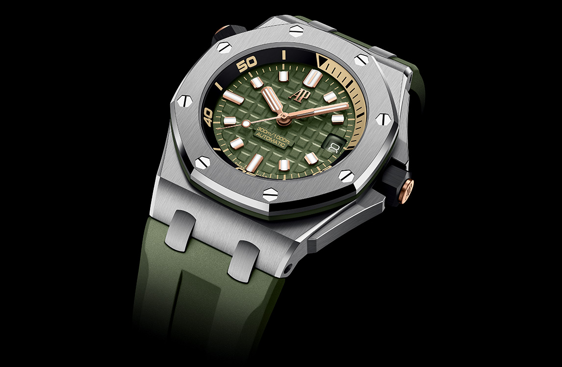 Audemars Piguet Royal Oak Offshore Diver 15720ST.OO.A052CA.01