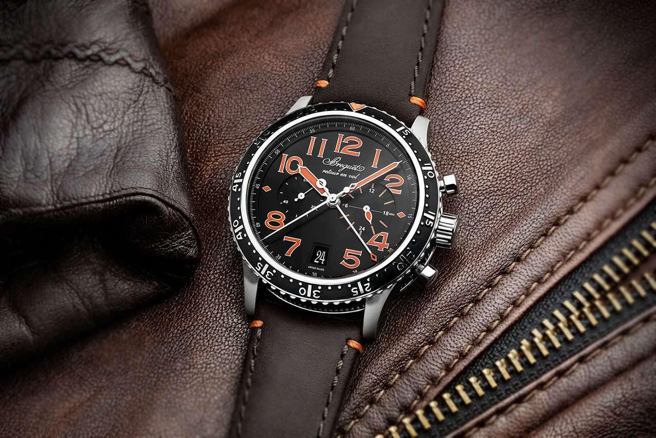Breguet Type XXI 3815 Orange Limited edition 3815TI:HO:3ZU Lifestyle