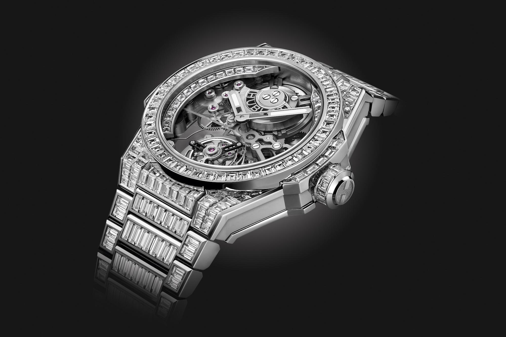 Hublot Big Bang Integral Tourbillon High Jewellery 455.WX.9000.WX.9904