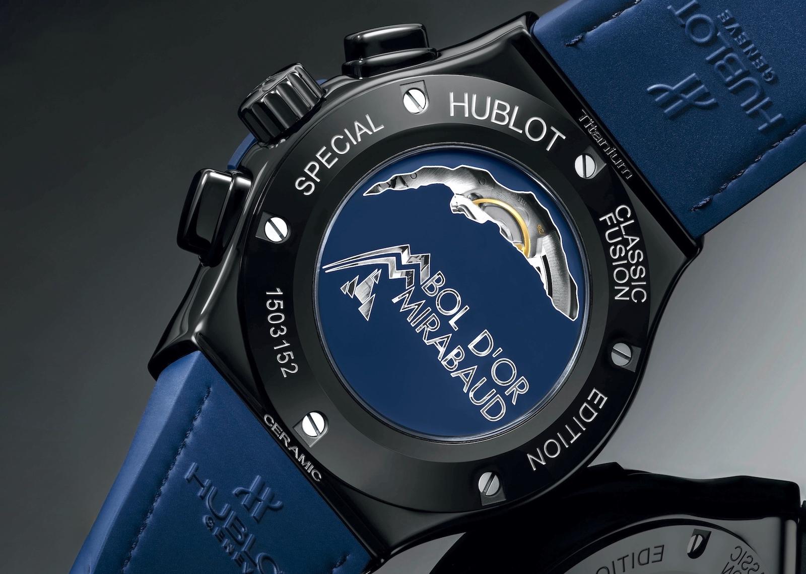 Hublot Classic Fusion Chronograph Bol d'Or Mirabaud 521.CM.7070.NR.BOM Trasera