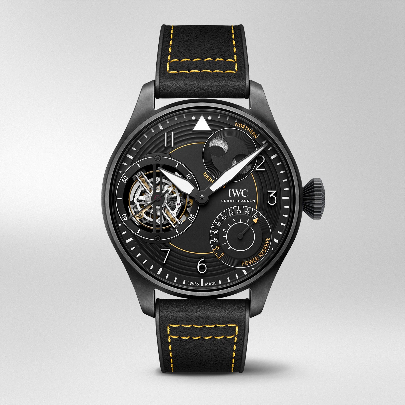 """IWC Big Pilot's Watch Constant Force Tourbillon Edition """"IWC RACING"""" IW590501 Frontal"""