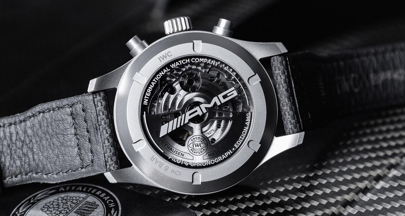 IWC Pilot's Watch Chronograph Edition AMG IW377903 Lifestyle trasera