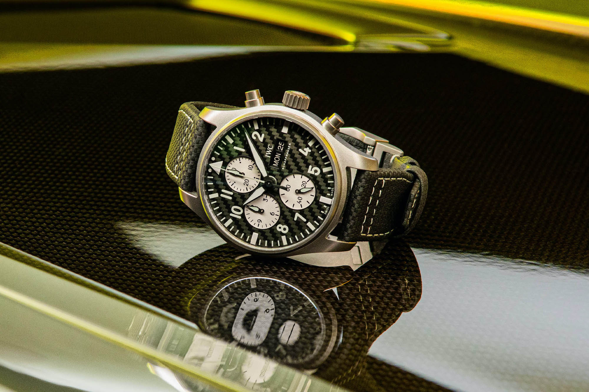 IWC Pilot's Watch Chronograph Edition AMG IW377903 Lifestyle