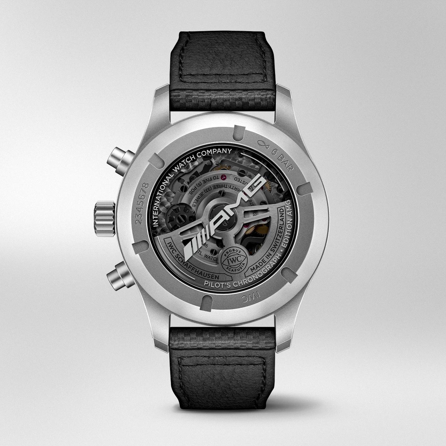 IWC Pilot's Watch Chronograph Edition AMG IW377903 Trasera