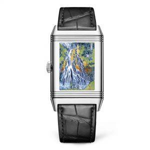 Jaeger-LeCoultre Reverso Tribute Enamel Hokusai q39334t2 Trasera