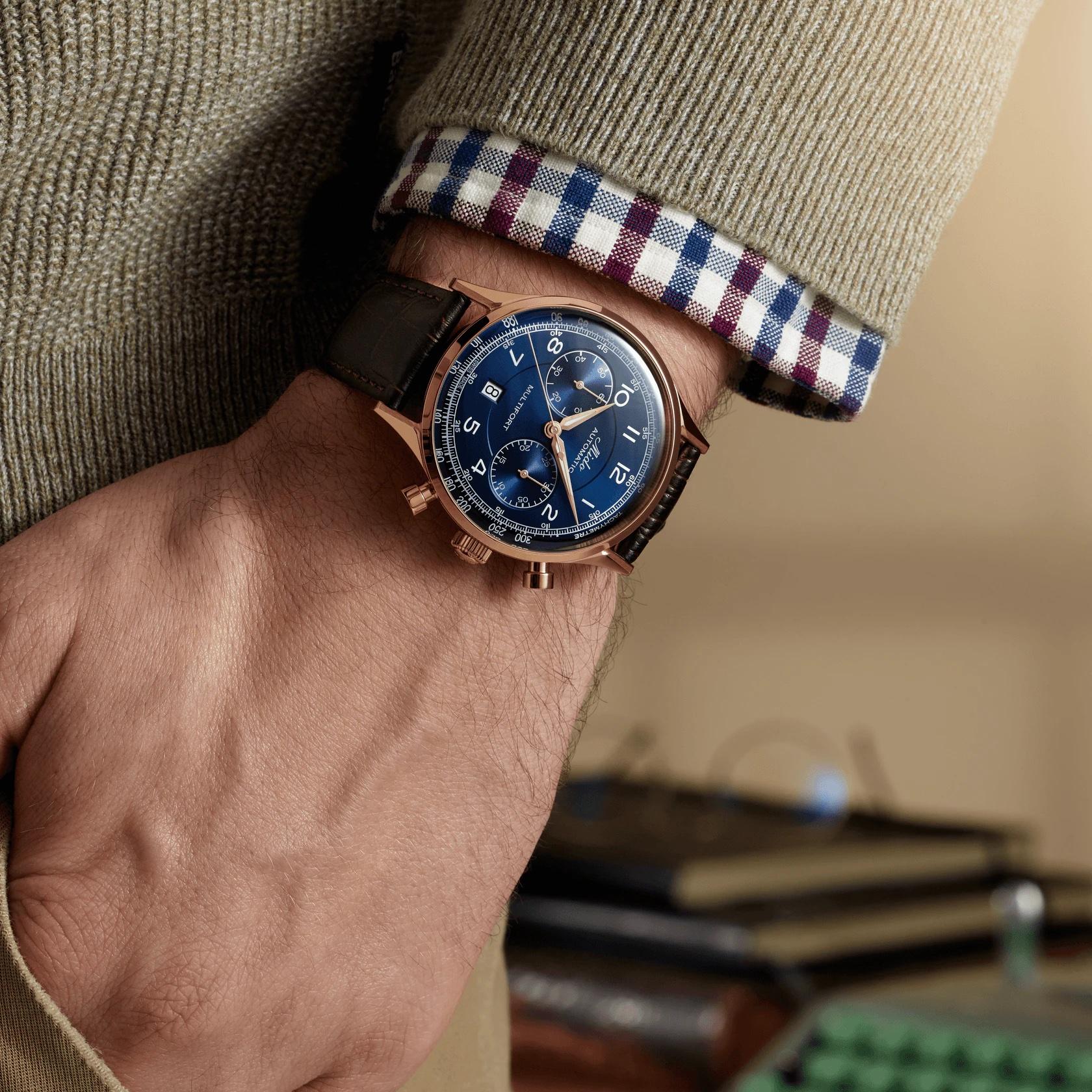 Mido Multifort Patrimony Chronograph M040.427.36.042.00 Lifestyle wristshot