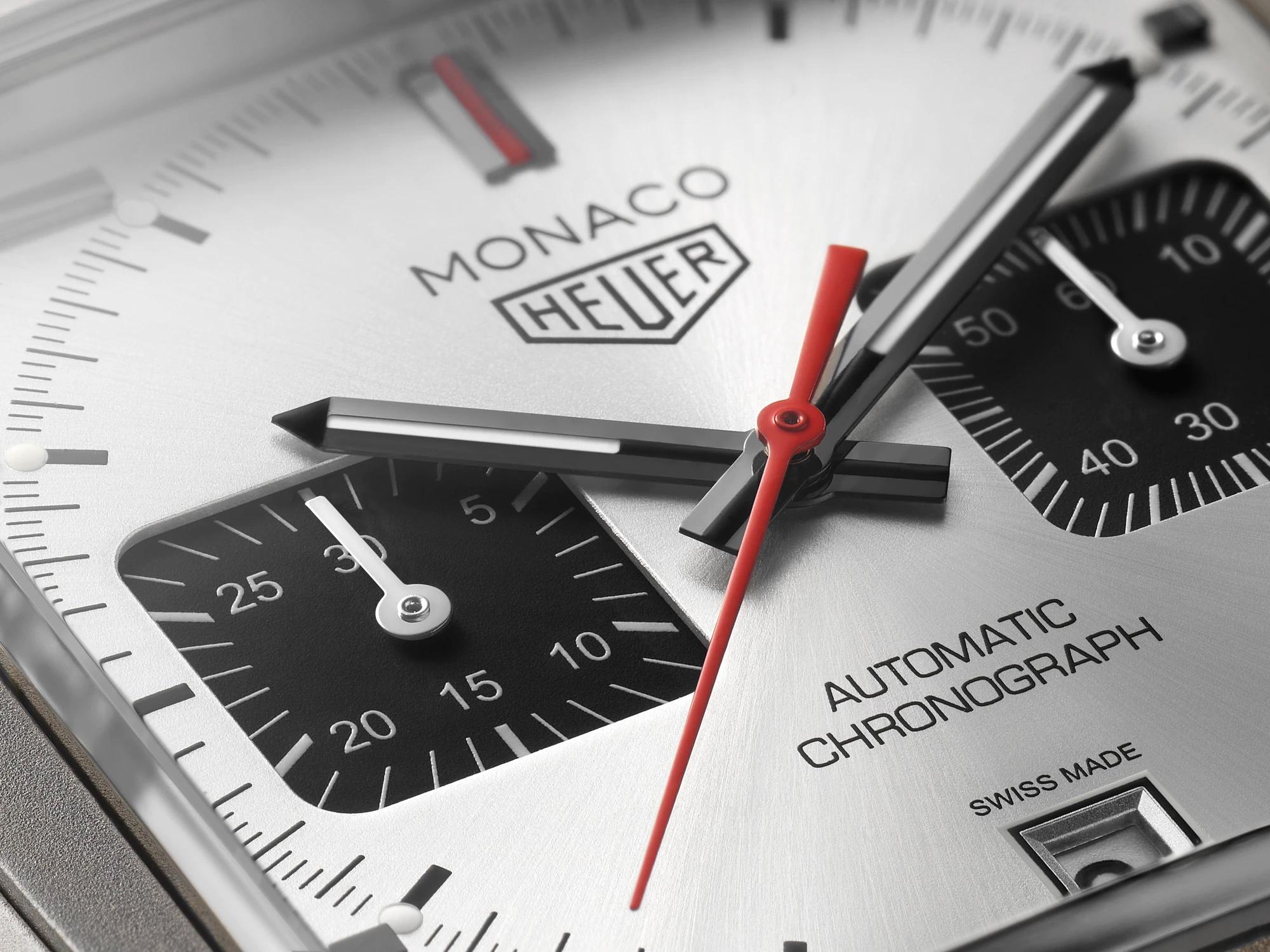 TAG Heuer Monaco Titan Special Edition CAW218B.FC6496 Detalle esfera