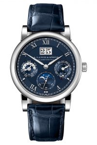 A Lange & Söhne Langematik Perpetual Limited Anniversary Editions 310.028 Frontal