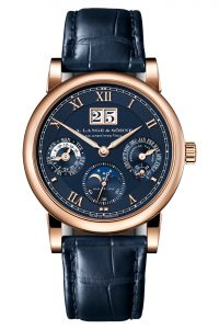 A Lange & Söhne Langematik Perpetual Limited Anniversary Editions 310.037 Frontal