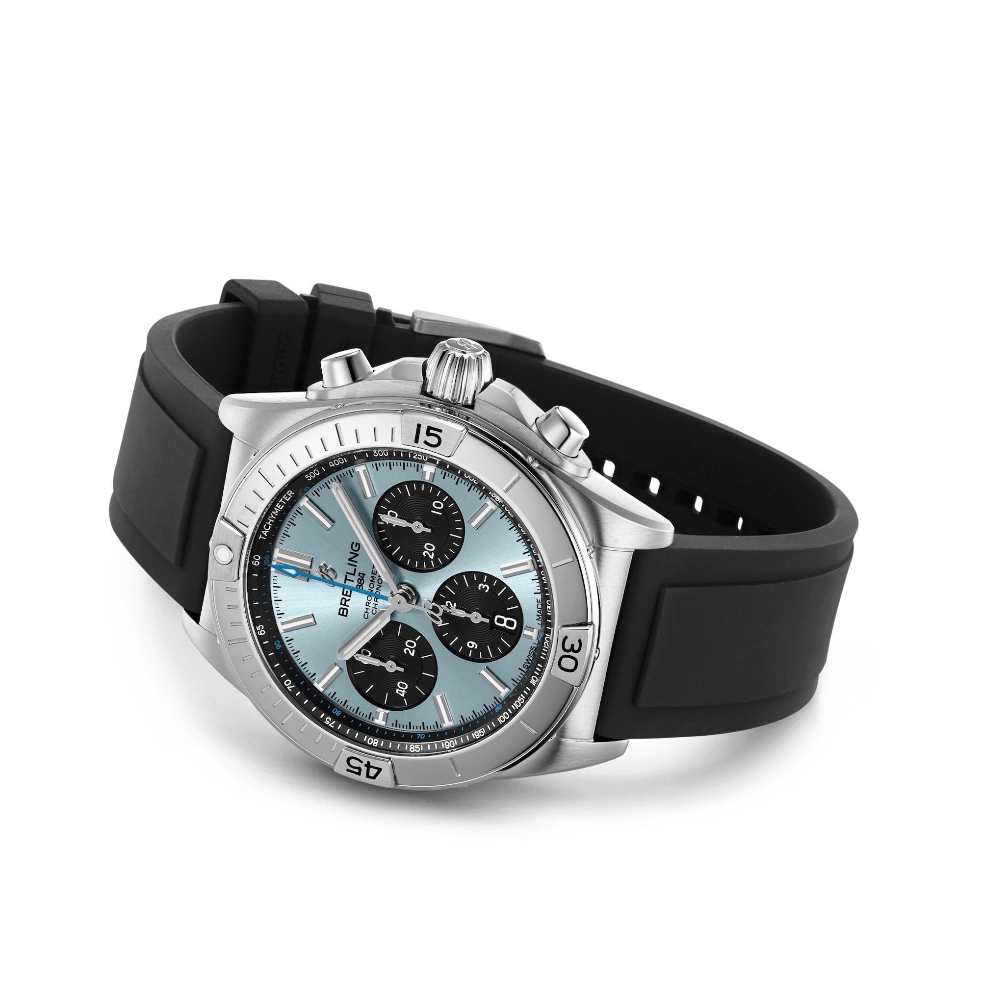 Breitling Chronomat B01 42 Ice Blue PB0134101C1S1