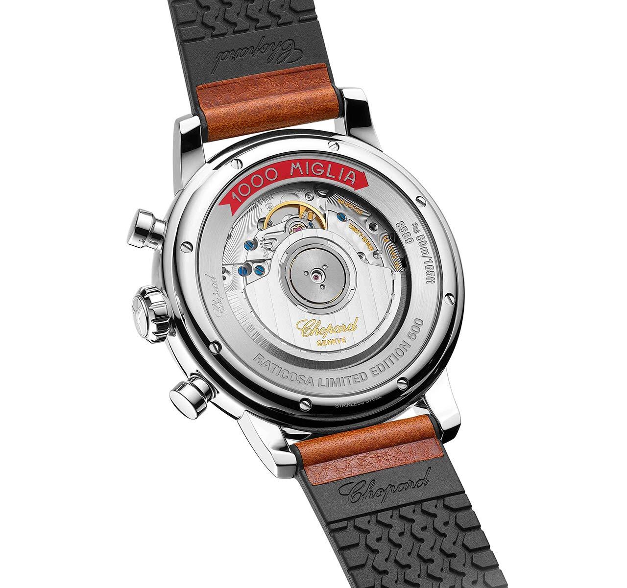 Chopard Mille Miglia Classic Chronograph Raticosa 168589-3034 Trasera