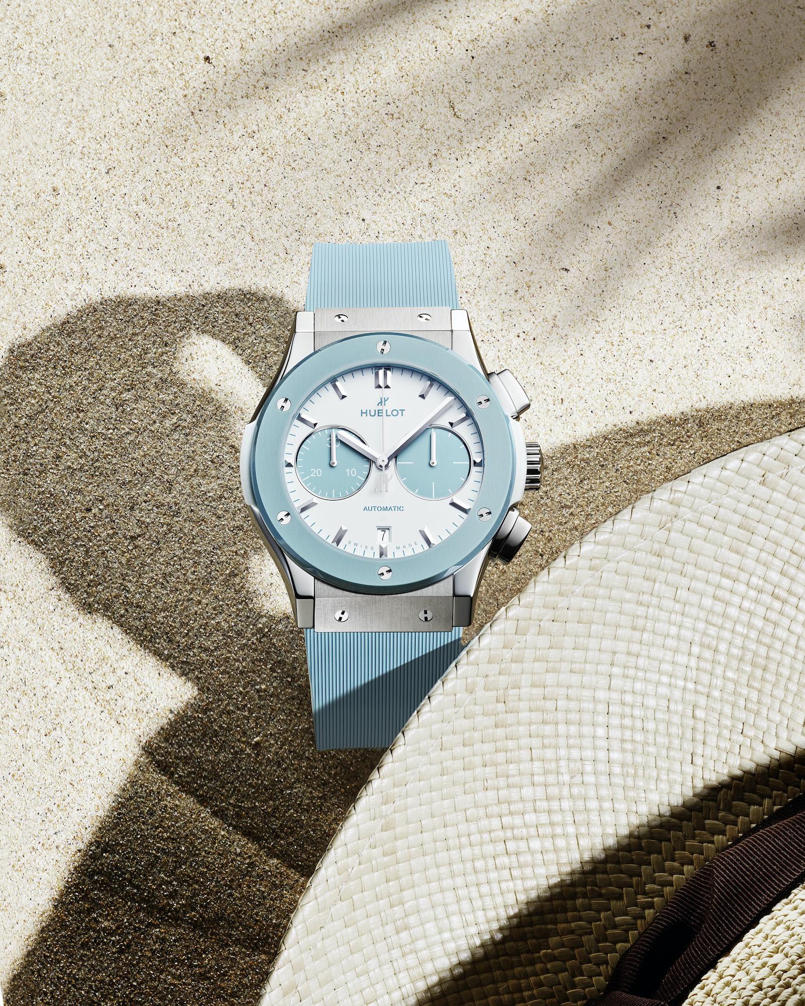 Hublot Classic Fusion Chronograph Boutique Capri 521.NL.8929.RX.CAP21 Lifestyle 2