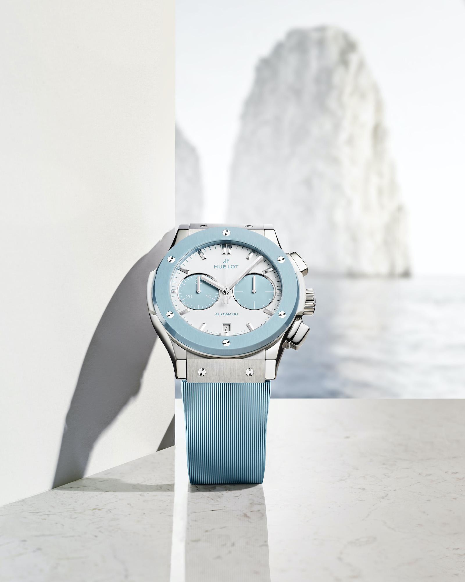 Hublot Classic Fusion Chronograph Boutique Capri 521.NL.8929.RX.CAP21 Lifestyle 3