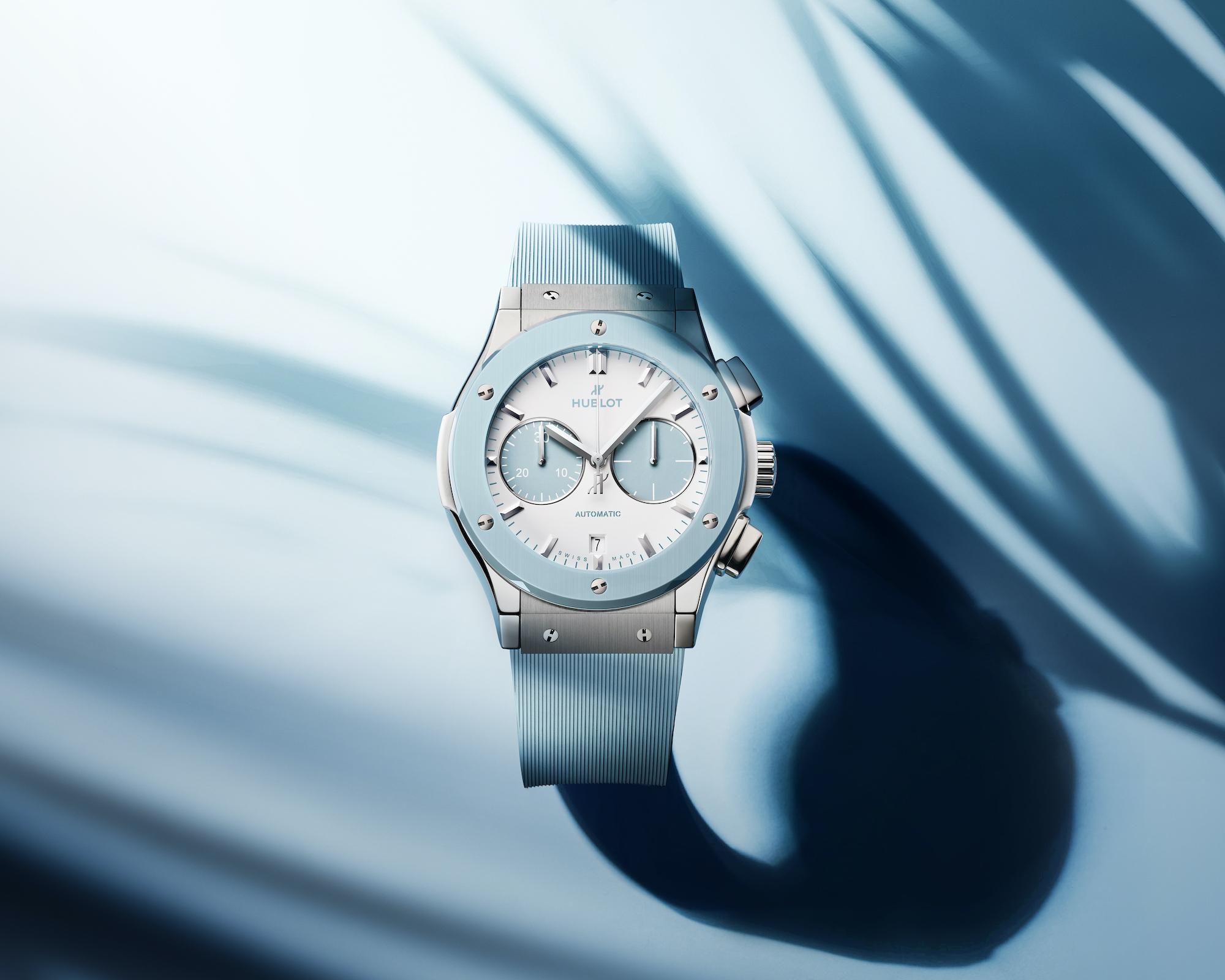 Hublot Classic Fusion Chronograph Boutique Capri 521.NL.8929.RX.CAP21 Lifestyle