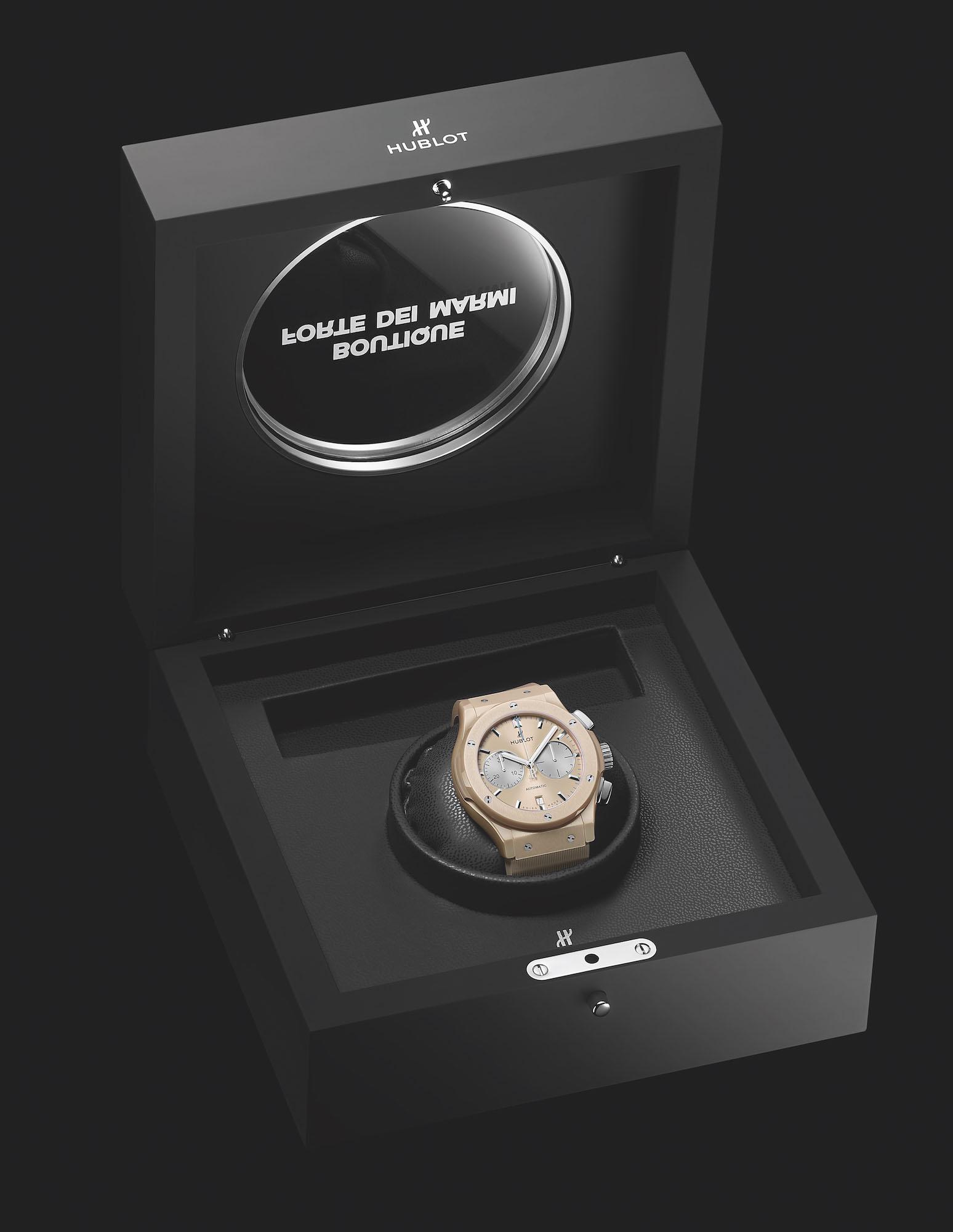 Hublot Classic Fusion Chronograph Boutique Forte dei Marmi 521.CZ.892B.RX.BHF21 Estuche
