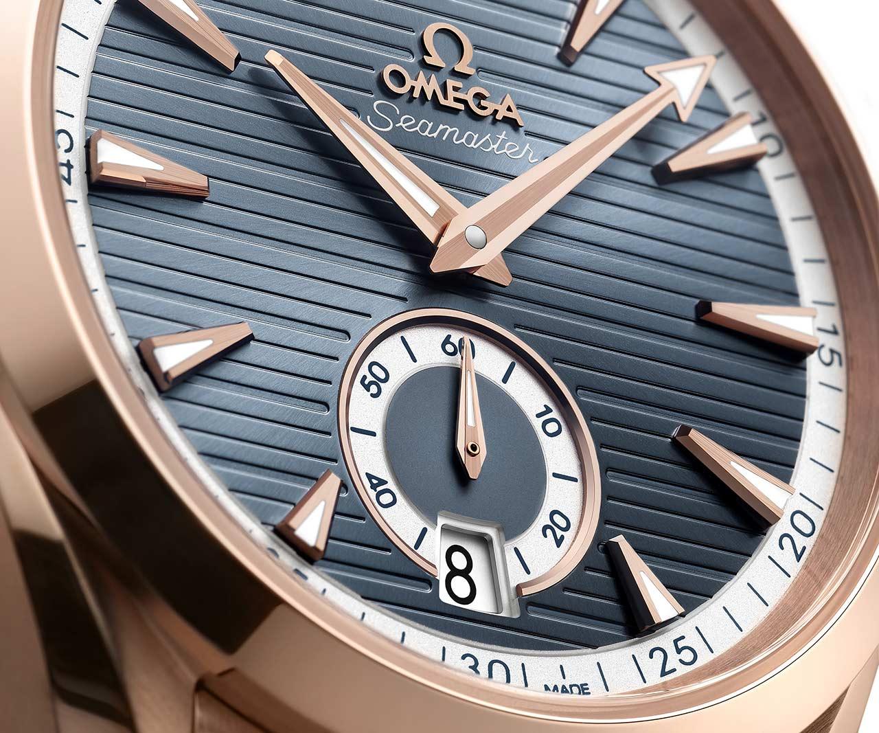Omega Seamaster Aqua Terra Small Seconds 41 mm 220.50.41.21.03.001 Detalle