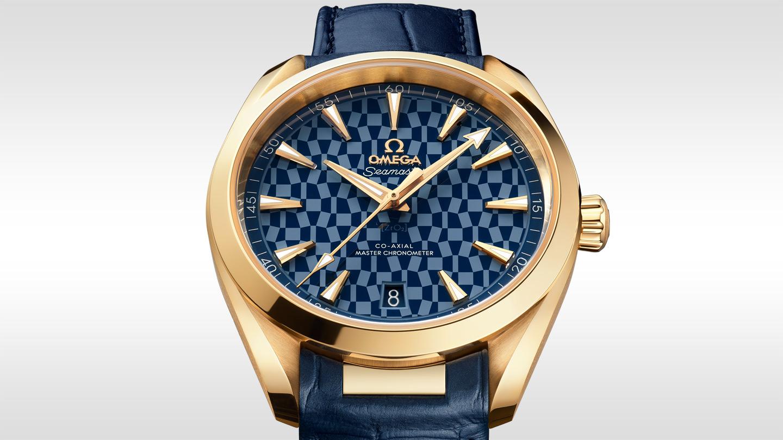 Omega Seamaster Aqua Terra Tokyo 2020 Gold Edition 41mm 522.53.41.21.03.001