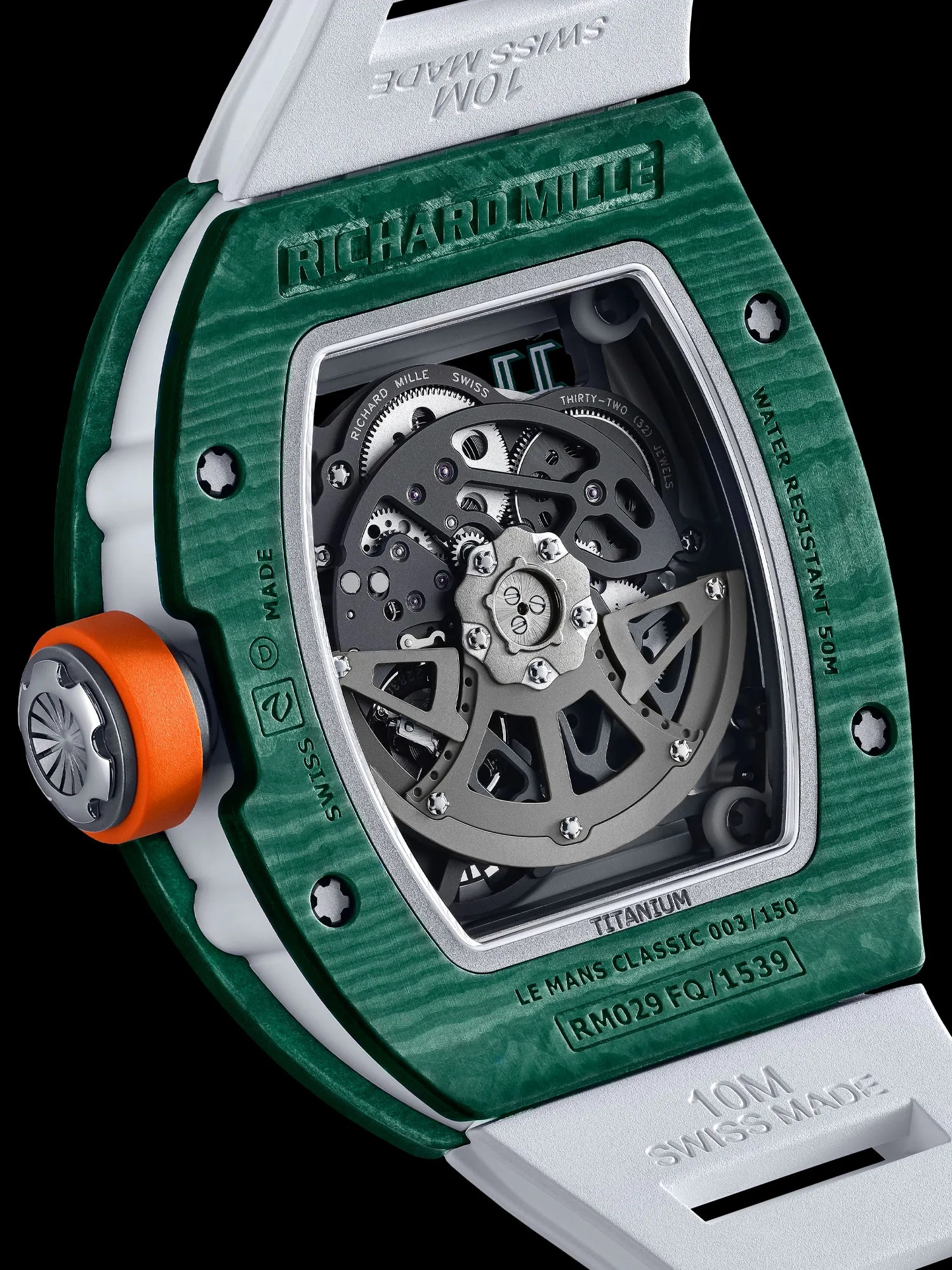 Richard Mille RM 029 Automatic Le Mans Classic Detalle trasera