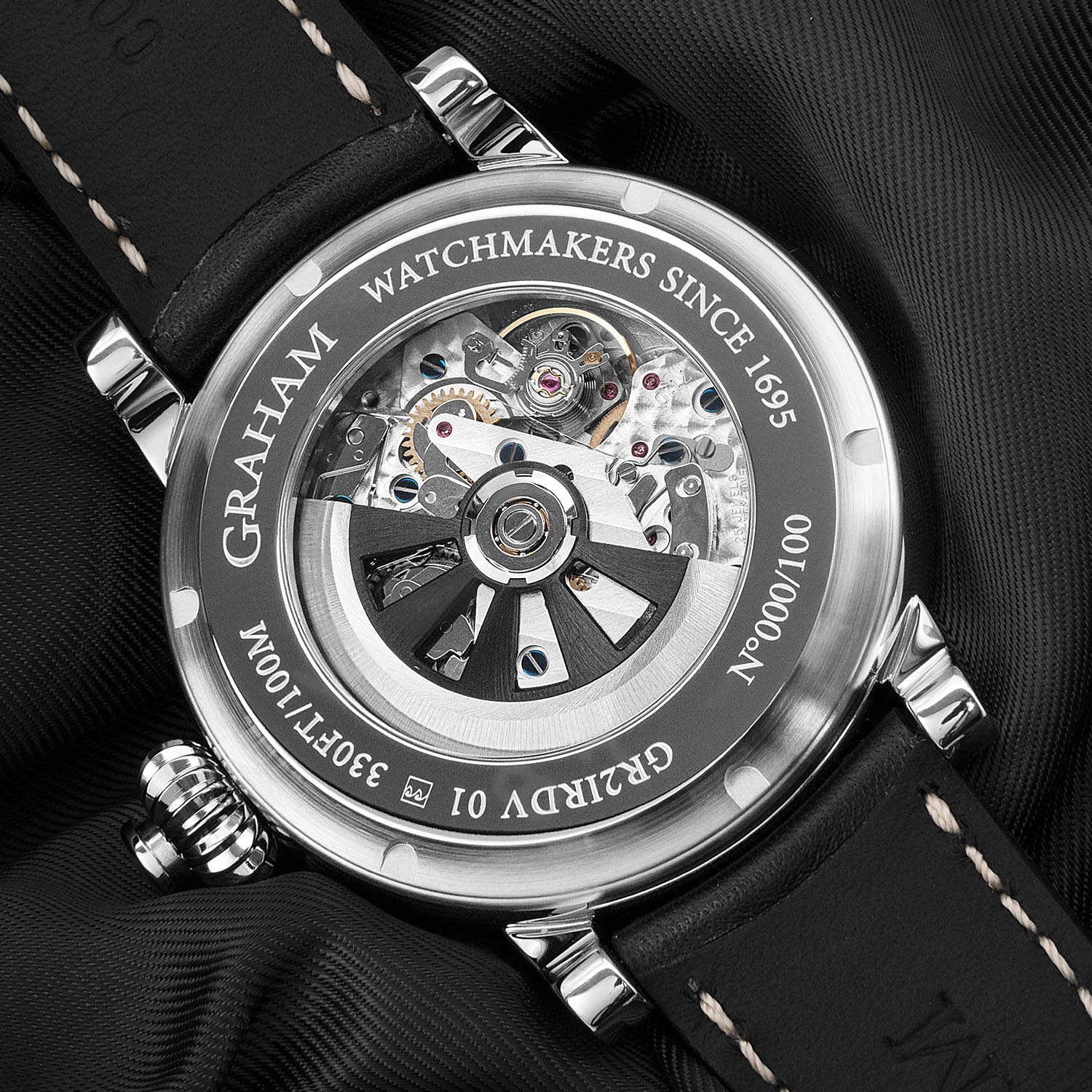Graham Fortress Monopusher Limited Edition 2FOAS.B01A Lifestyle trasera
