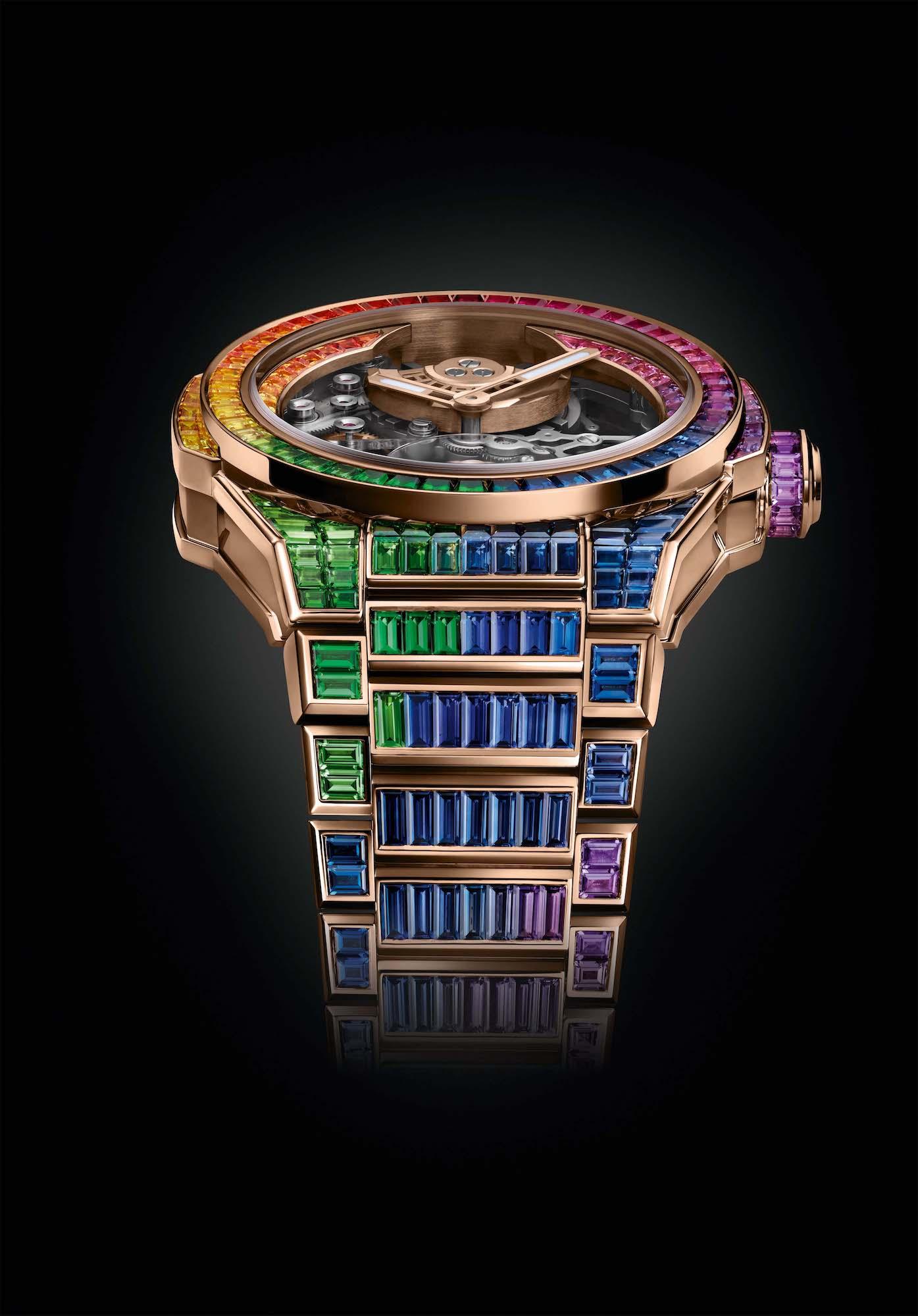 Hublot Big Bang Integral Tourbillon Rainbow 455.OX.9900.OX.9999 Detalle