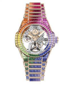 Hublot Big Bang Integral Tourbillon Rainbow 455.OX.9900.OX.9999 Frontal 2