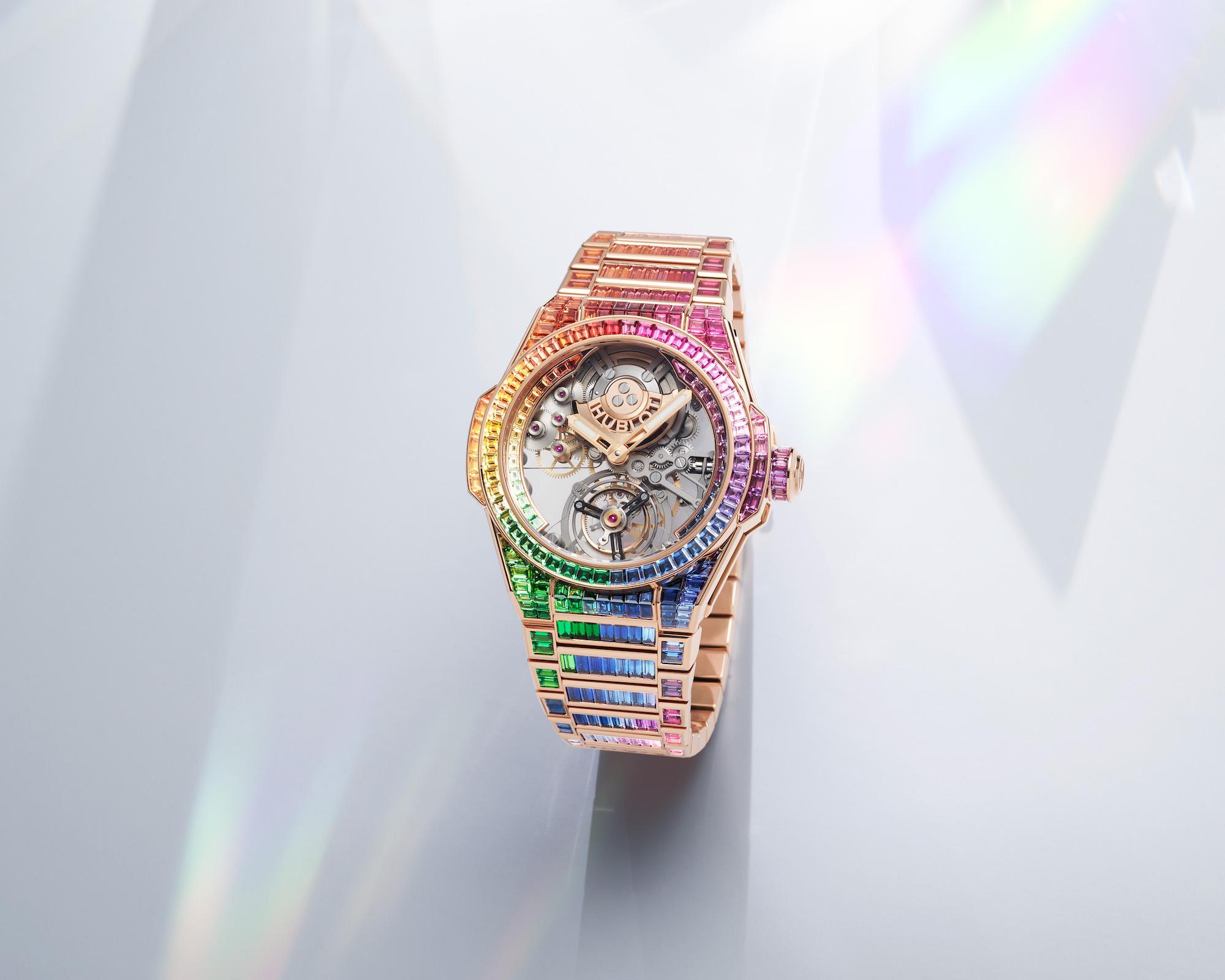 Hublot Big Bang Integral Tourbillon Rainbow 455.OX.9900.OX.9999 Lifestyle
