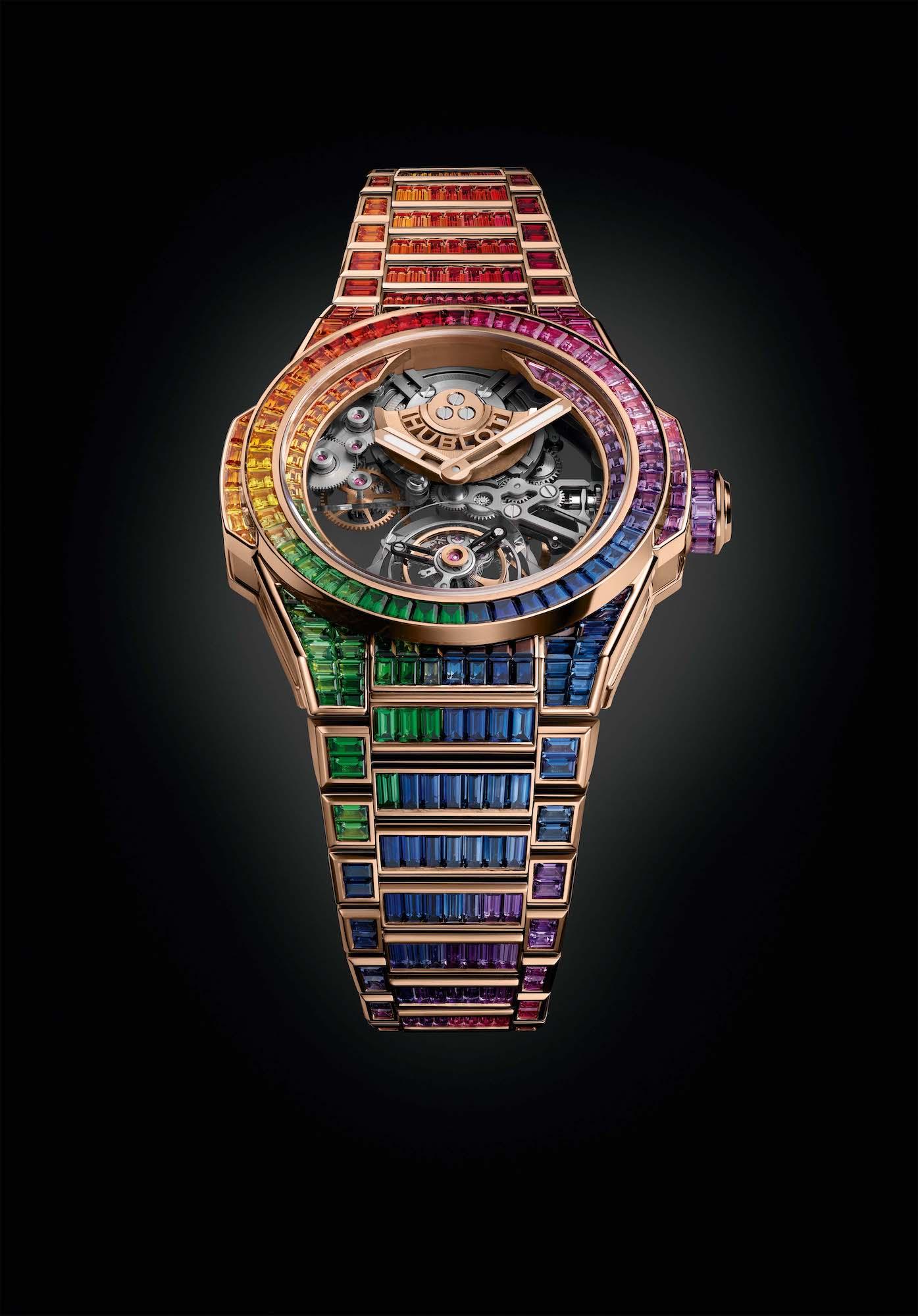 Hublot Big Bang Integral Tourbillon Rainbow 455.OX.9900.OX.9999