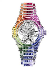 Hublot Big Bang Integral Tourbillon Rainbow 455.WX.9900.WX.9999 Frontal 2