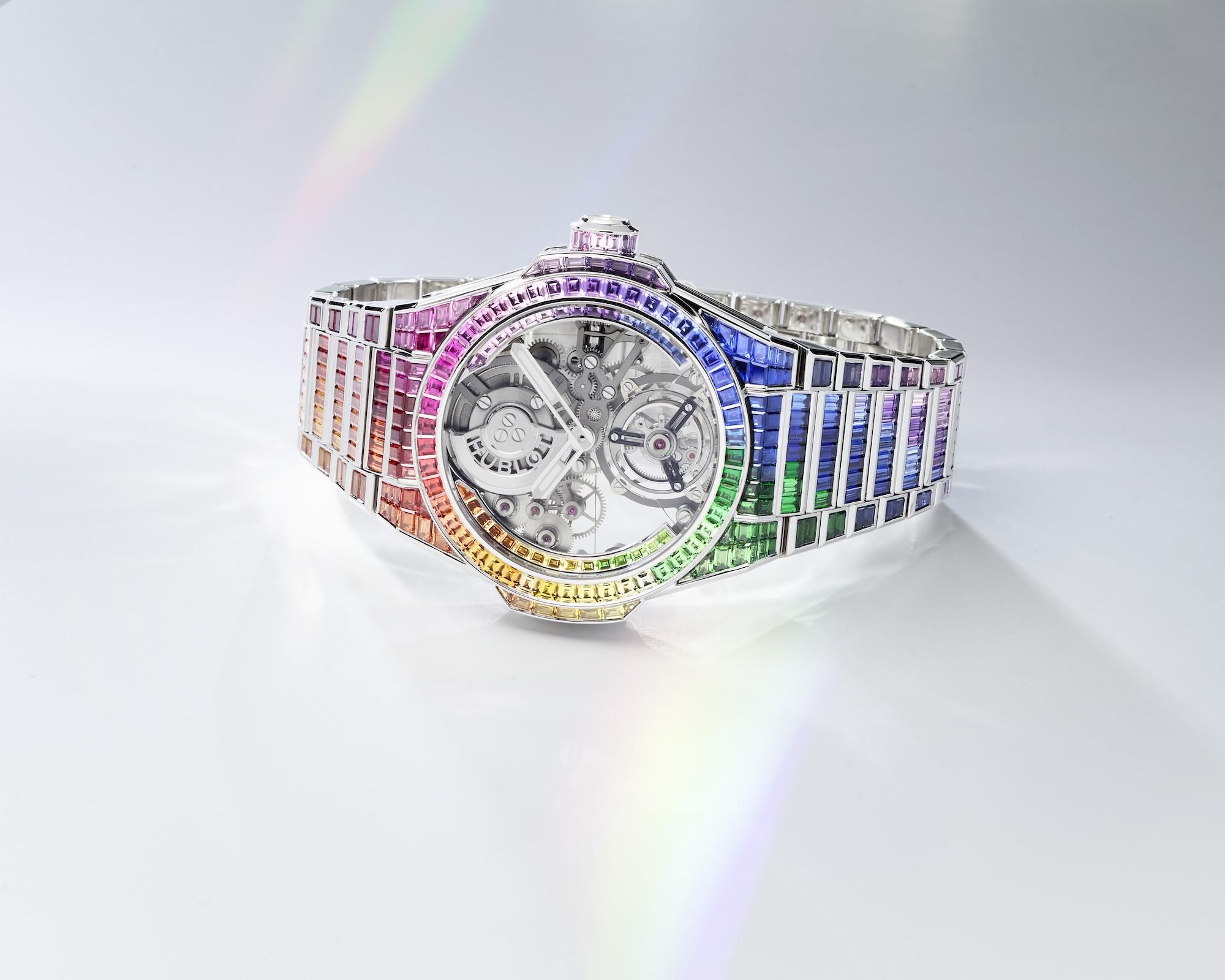 Hublot Big Bang Integral Tourbillon Rainbow 455.WX.9900.WX.9999 Lifestyle 2
