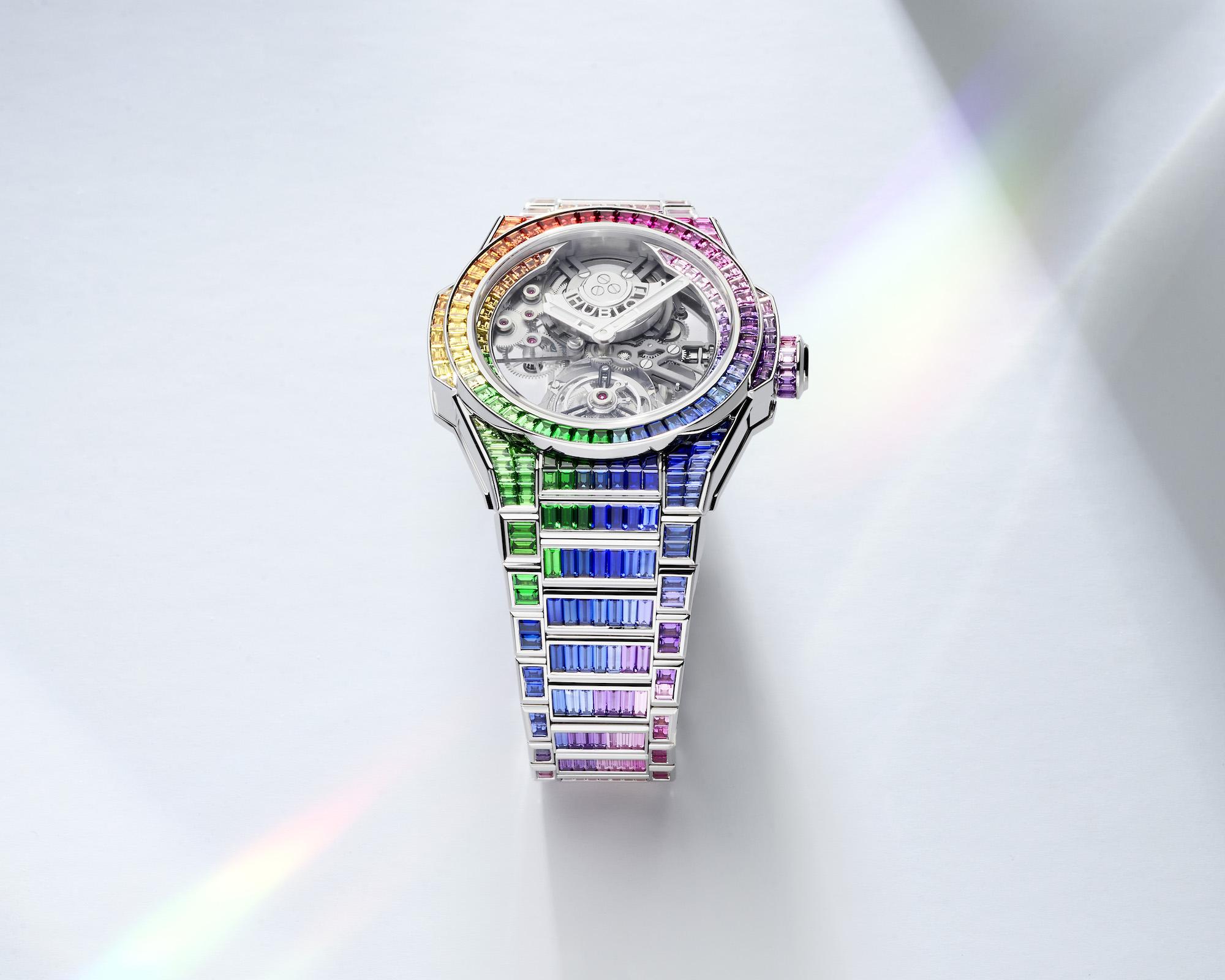 Hublot Big Bang Integral Tourbillon Rainbow 455.WX.9900.WX.9999 Lifestyle