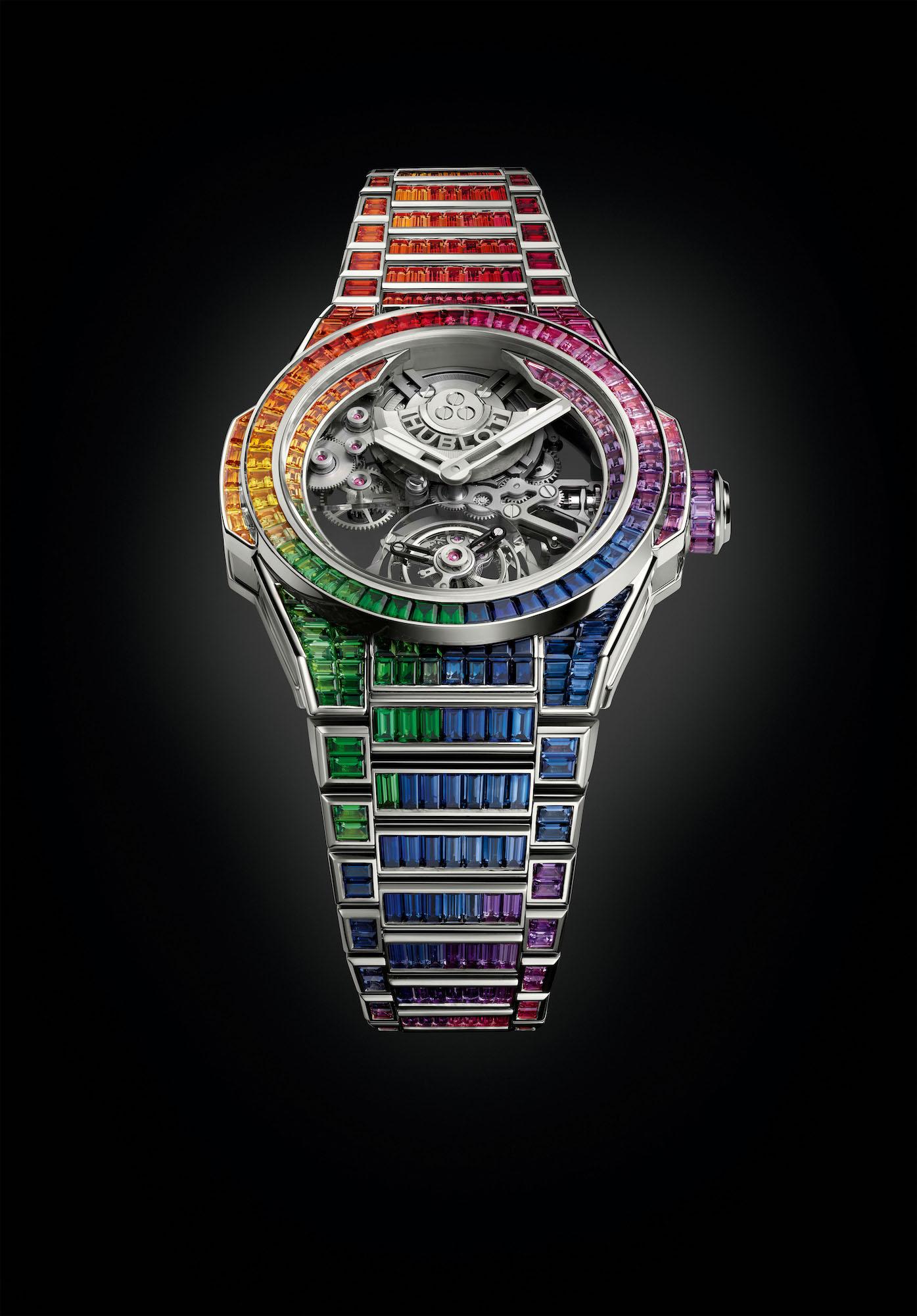 Hublot Big Bang Integral Tourbillon Rainbow 455.WX.9900.WX.9999