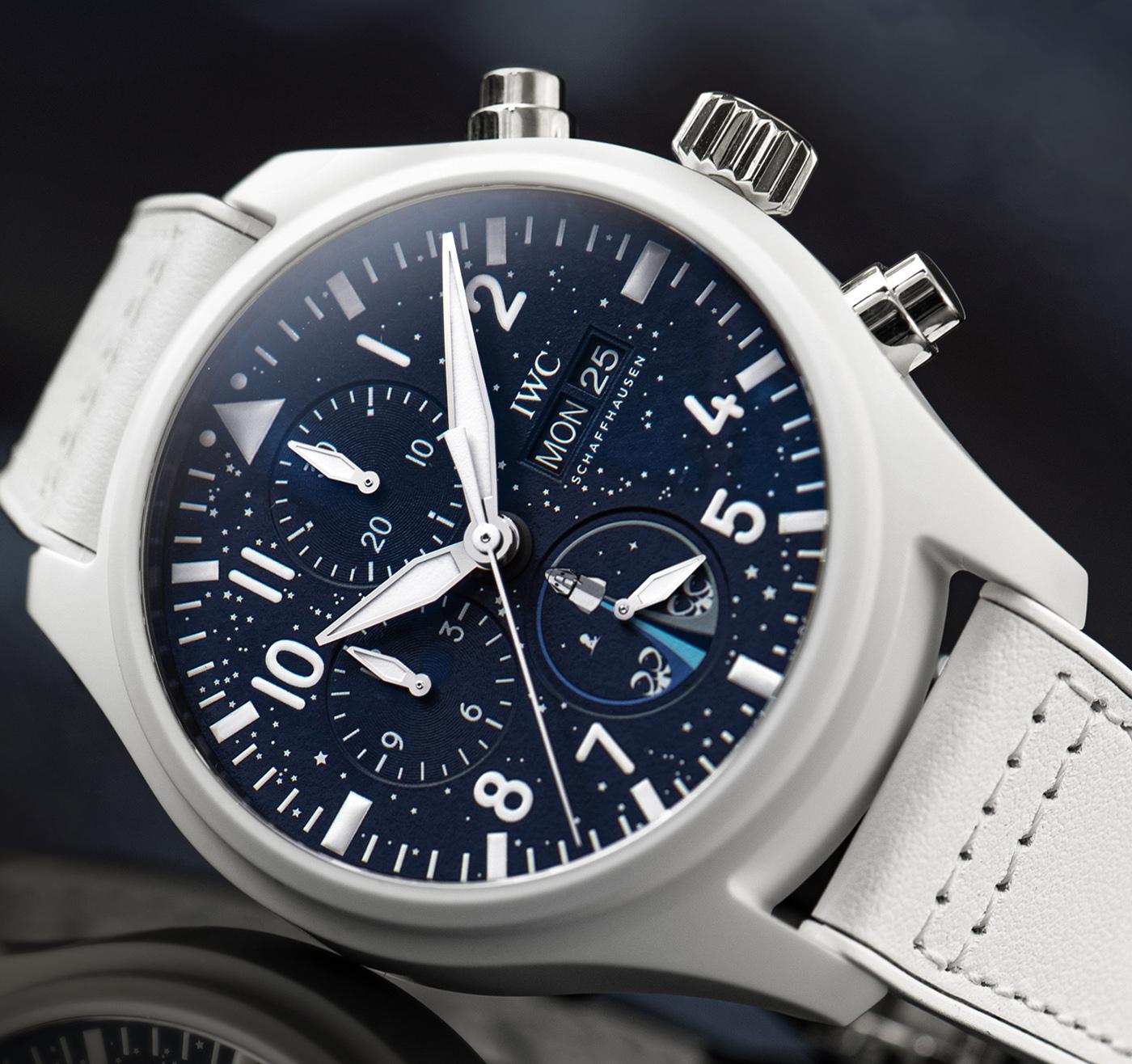 IWC Pilot's Watch Chronograph Inspiration4 Edition IW389110 Detalle