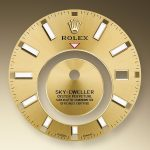 Rolex Sky Dweller Esfera champagne