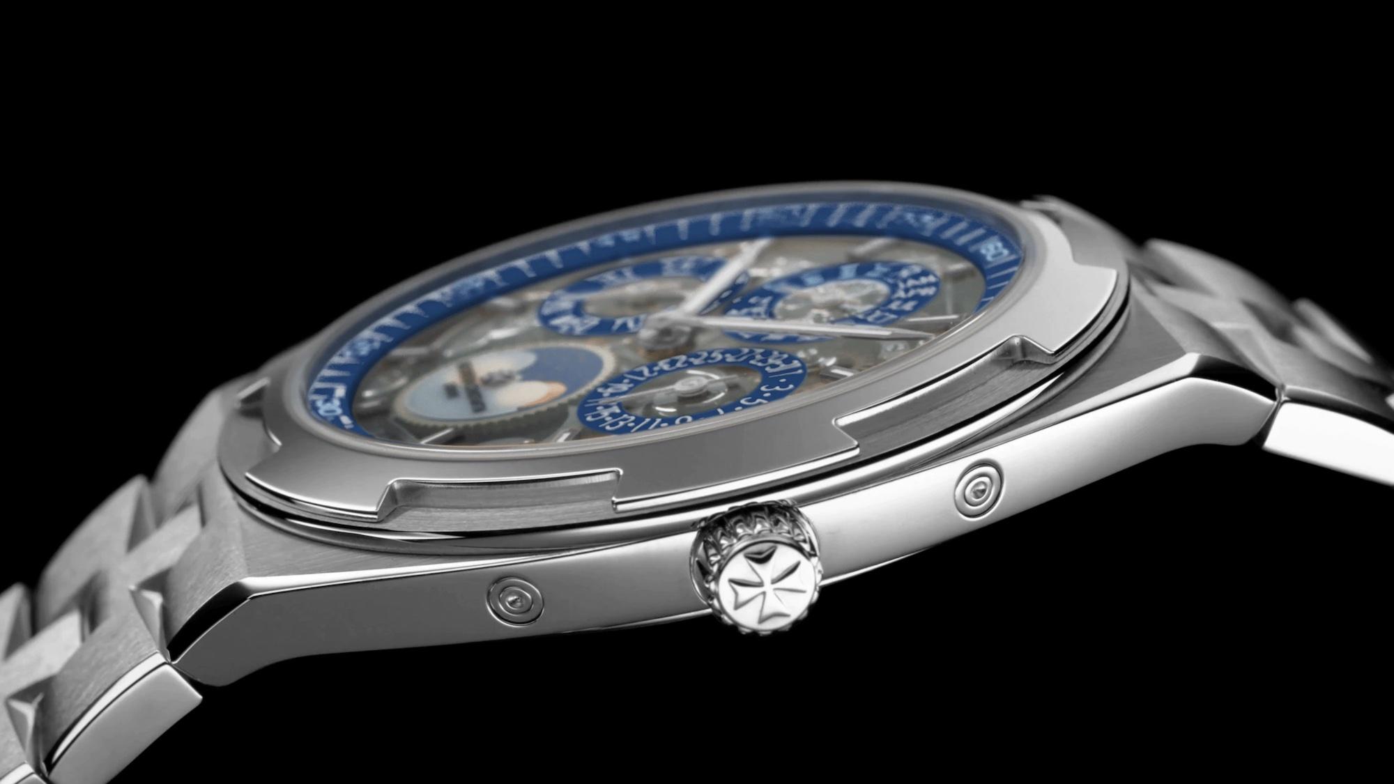 Vacheron Constantin Overseas Perpetual Calendar Ultra-thin Skeleton 4300V:120G-B946 Detalle carrura