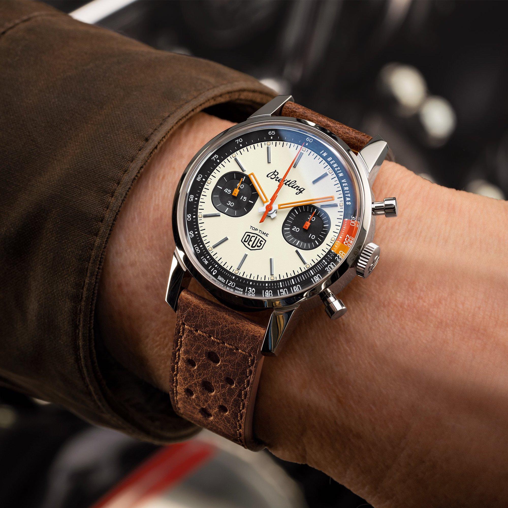 Breitling Top Time Deus Limited Edition A233101A1A1X1 Lifestyle wristshot