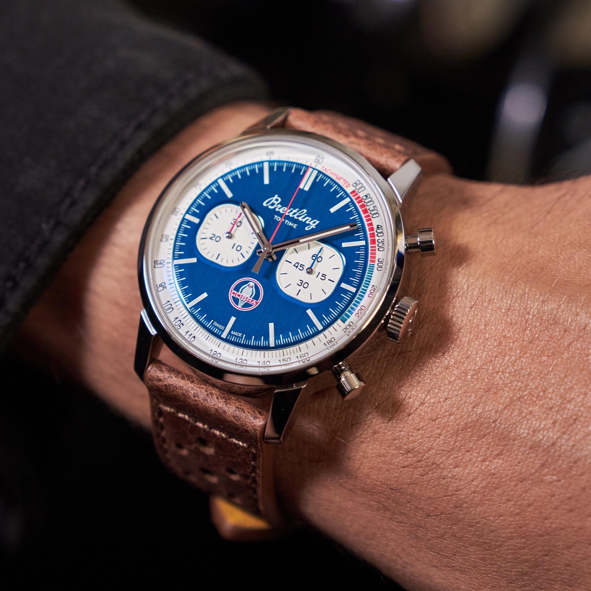 Breitling Top Time Shelby Cobra A41315A71C1X2 Lifestyle wristshot