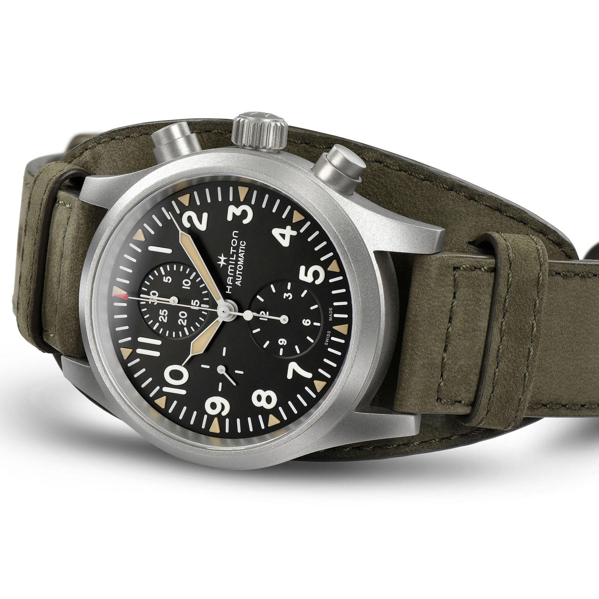 Hamilton Khaki Field Automatic Chronograph H71706830 2