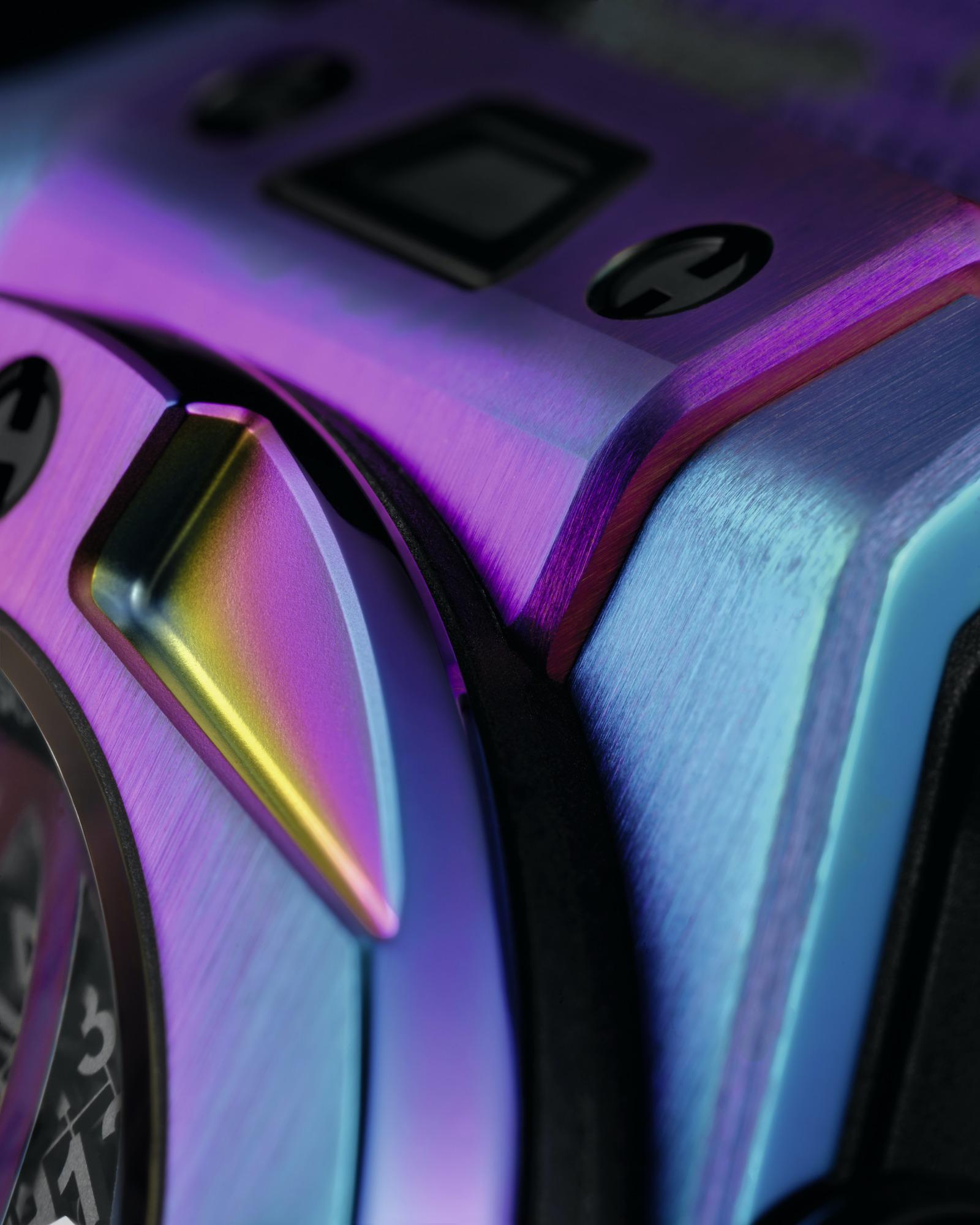 Hublot Big Bang DJ Snake Detalle bisel y asa