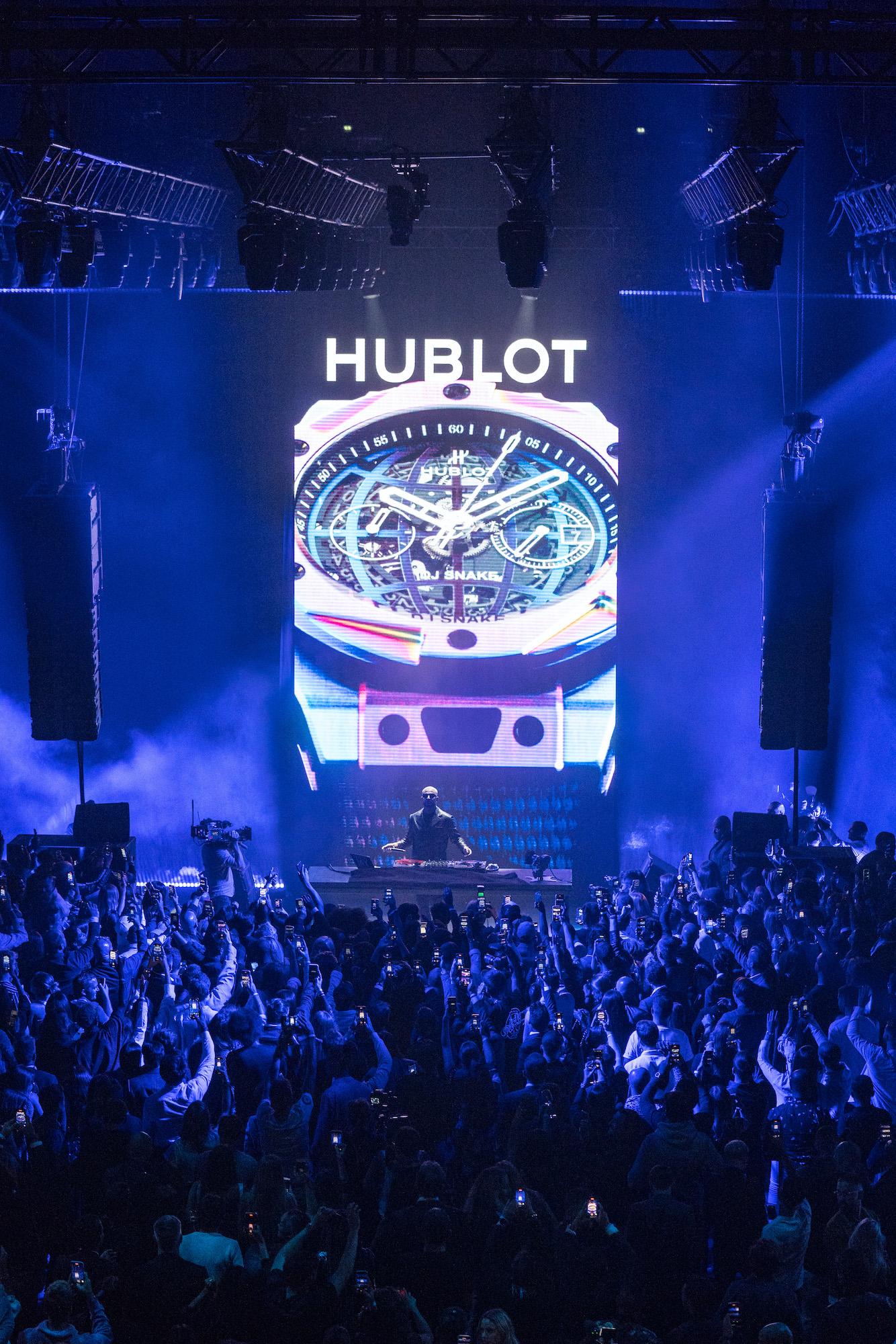 Hublot Big Bang DJ Snake Evento de lanzamiento