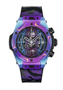 Hublot Big Bang DJ Snake Frontal correa de caucho de colores